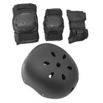 Kit de Proteção com Capacete Preto Fênix - Fenix