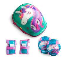 Kit de Protecao Completo Infantil Unicornio ES199 - Átrio