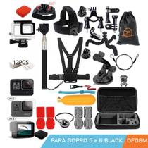Kit de proteção para gopro hero 5 6 7 black - df08m - Domefloat