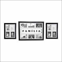 Kit De Quadros Painéis 14 Fotos Frase: Família Qpl30.q3229 - Kiaga