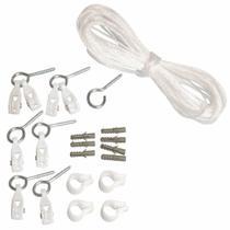 Kit de Reposição de Cordas e Roldanas para Varal de Teto Secalux 0031010 -
