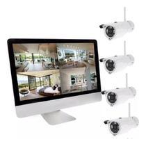 Kit de segurança com 4 cameras jortan -