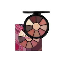 Kit de Sombra Burgundy Ruby Rose HB-9986/9