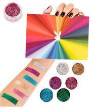 Kit de Sombras Glitter Make a Diference Playboy - 6 Unidades -