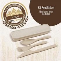 kit de talheres reutilizáveis - Unygift