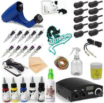 Kit de tatuagem Completo  Electra Pop, Electric ink - W4 -
