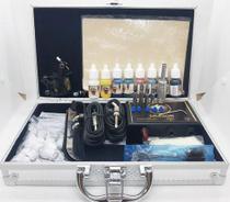 Kit De Tatuagem Profissional Completo Stander X Com Dvd e Maleta de Alumínio - supplytattoo