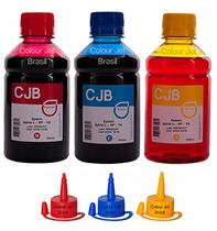 Kit de Tinta Impressora Epson L355 l365 l375 l395 Colors (3x250ml) - Colour jet brasil