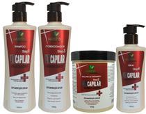 Kit De Tratamento Capilar Reconstrução E Cauterização Uti Hidratação Profissional - Hábito Cosméticos