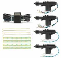 Kit de travas elétricas 4 portas completa universal - H-Tech