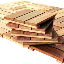 Kit deck modular 30x30cm cumarú 20 placas - mader silva -