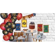 Kit Decoração Só Um Bolinho Do Harry Potter Para Aniversário - Festcolor