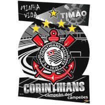 Kit Decorativo Cartonado Corinthians - Festabox