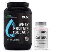 Kit Definição Whey Isolado All Natural Chocolate 900g - Dux