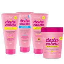 Kit Deita Cabelo Studio Hair Shampoo Condicionador Máscara e Finalizador - Muriel -