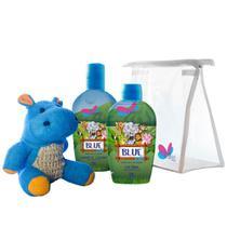 Kit Delikad Kids Safari Blue (Colônia 100 ml + Sabonete Líquido) -