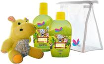 Kit Delikad Kids Safari Hyppo Yellow Colônia + Shampoo -