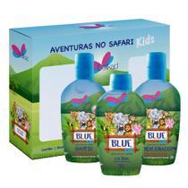 Kit Delikad Kids Safari Trio Blue -