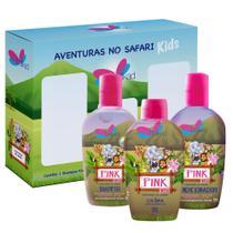 Kit Delikad Kids Safari Trio Pink -