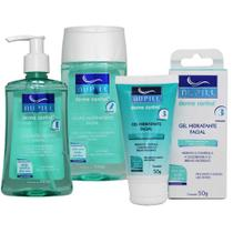Kit Derme Control Sabonete Adstringente e Gel Hidratante - Nupill -