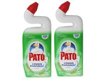 Kit Desinfetante Pato Limpeza Profunda Pinho - 500ml 2 Unidades