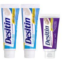 Kit Desitin: 2 Creamy 113g + Máxima Duração 57g -
