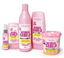 Kit Desmaia Cabelo Shampoo Condicionador Sérum e Máscara 350g e leave in - Kits Profissionais