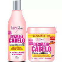 Kit Desmaia Cabelo Shampoo + Máscara 350g - Forever Liss -