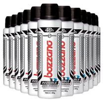 Kit Desodorante Aerosol Bozzano Anti Invisible 90g - 12 Unidades -