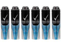 Kit Desodorante Aerossol Antitranspirante  - Masculino Rexona Xtracool 150ml 6 Unidades