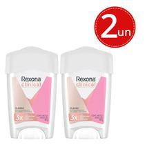 Kit Desodorante Antitranspirante Rexona Clinical Classic Women Stick - 2 Unidades -