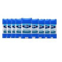 Kit Desodorante Gillette Antitranspirante Clear Gel Antibacterial 82g com 9 Unidades -