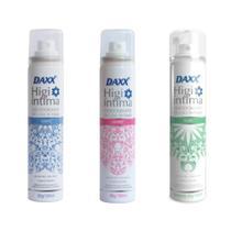 Kit Desodorante Íntimo Daxx Higi Íntima Suave + Powder + Fresh 3x100ml -