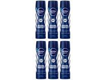 Kit Desodorante Nivea Original Protect Aerossol - Antitranspirante Masculino 150ml 6 Unidades