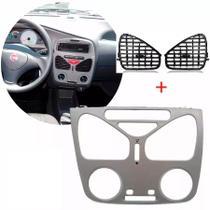 Kit Difusor de Ar Moldura Central Palio Siena 01 a 11 Sem Ar - Autoplast