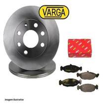 Kit Disco+pastilhas Freio Dianteiro Varga Celta/Corsa Classic/Prisma - Trw Vargas