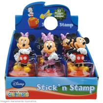 Kit Disney com 2 Carimbos e Adesivos Mickey e Minnie - BIP 0621256