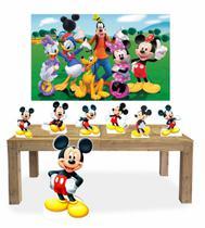 Kit Display Mdf Mickey Com 07 Pçs + Painel - X4Adesivos