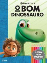 Kit diversao - o bom dinossauro - acompanha quebra-cabeca  6 mini lapis de cor - Bce - Bicho Esperto (Rideel) -