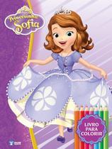 Kit diversao - princesinha sofia - acompanha quebra-cabeca  6 mini lapis de cor - Bce - Bicho Esperto (Rideel)