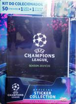 Kit do colecionador: 50 Stickers + 1 Capa Dura + 1 Sticker Album - UEFA Champions League 2019/20 - Topps