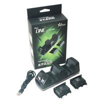 Kit Dock Carregador Duplo + 2 Bateria 4800mAh Recarregável Para Controle Wireless Xbox One/ Slim/ X FEIR FR-1400 -