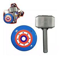 Kit Dos Vingadores Martelo Thor + Escudo Capitão América Brinquedo Herói - Sunflower