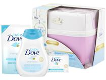 Kit Dove Baby com Frasqueira - 4 Produtos