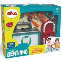 Kit Dr. (a) Dentinho Playset Profissões Dentista Elka Brinquedos -