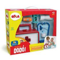 Kit Dr. (a) Dodói Playset Profissões Médico Elka Brinquedos -