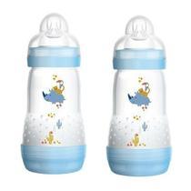 Kit Duas Mamadeiras First Bottle MAM - 260 ML Boys -