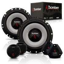 Kit Duas Vias 6 Polegadas Bomber Upgrade 200 Watts RMS + Mini Tweeters