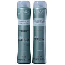 Kit Duo Charis Liss Extreme Argan - Shampo 300ml e Condicionador 300ml -