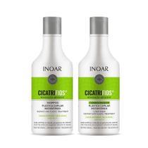 Kit Duo Cicatrifios Shampoo + Condicionador 250 Ml Inoar -